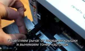 Сброс счетчика тонера Brother DCP 7057r и фотобарабана