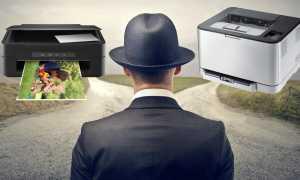 Выбираем принтер А3: струйный цветной с СНПЧ или лазерный черно-белый