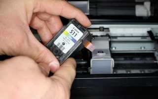 Почему после заправки картриджа не печатает принтер Canon, HP или другой