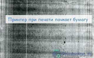 Почему принтер мажет листы при печати: что делать, как исправить